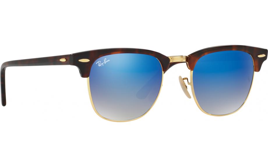 b971e6a079 Ray-Ban Clubmaster RB3016 990 / 7Q 49 Gafas de Sol - Envío Gratis |  Estación de sombra