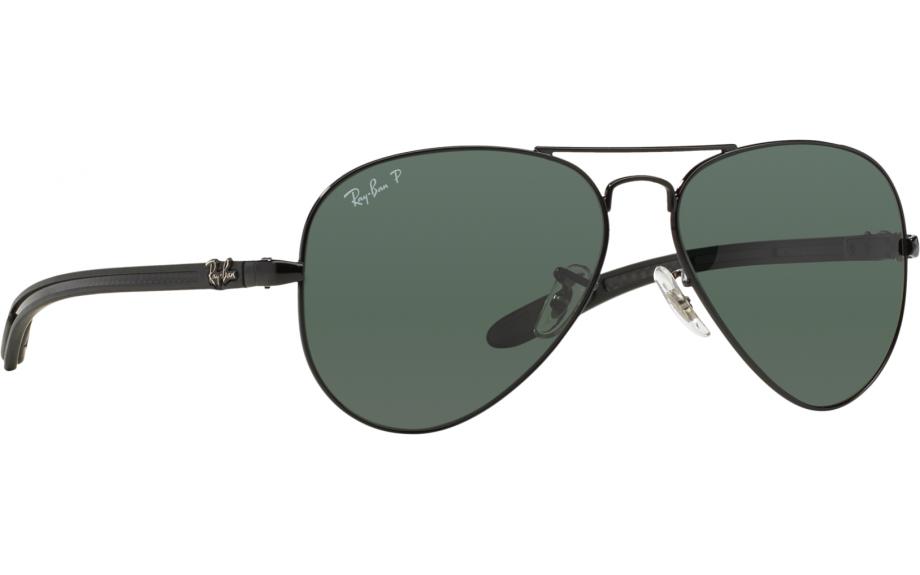 8b34015252edf Ray-Ban Aviator fibra de carbono RB8307 002   N5 55 gafas de sol - envío  gratis